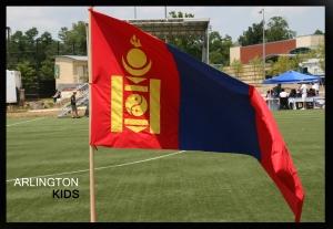 Mongolian Festival 2009 ~ Flag