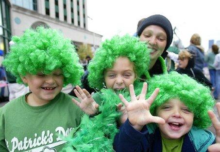 Great big green hair!