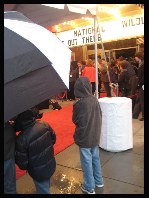 Where the Wild Things Are - Red Carpet Premiere  - In the rain.
